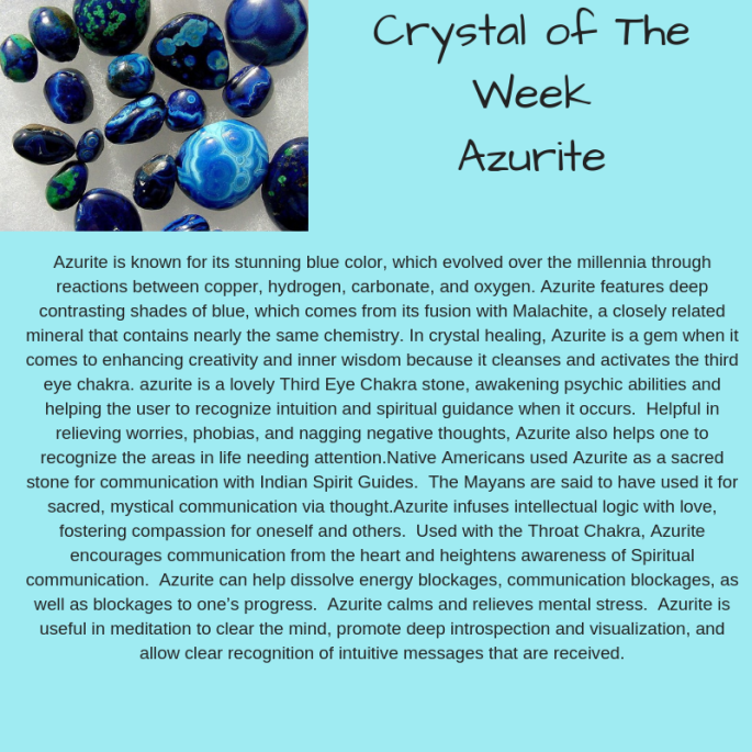 Crystal of The WeekAzurite