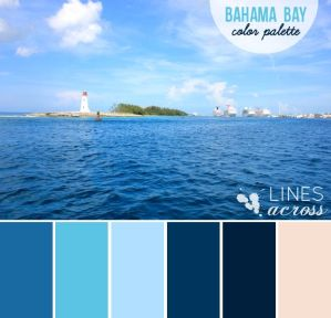 Bahama Bay Color Palette